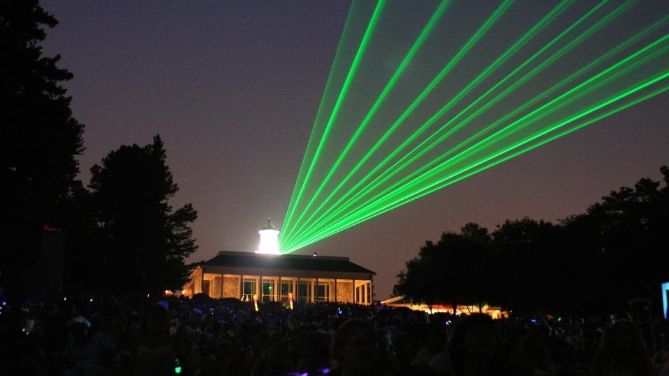 Outdoor Lasershow Skybeam