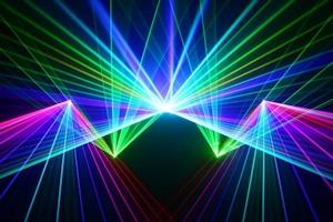 Lasershow Multicolor Beamshow