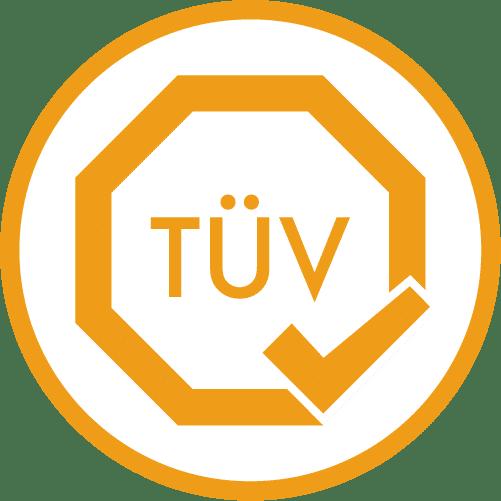 Klanglichter Lasershow als Event-Highlight Zusätzlicher Service: TÜV Gutachten Icon