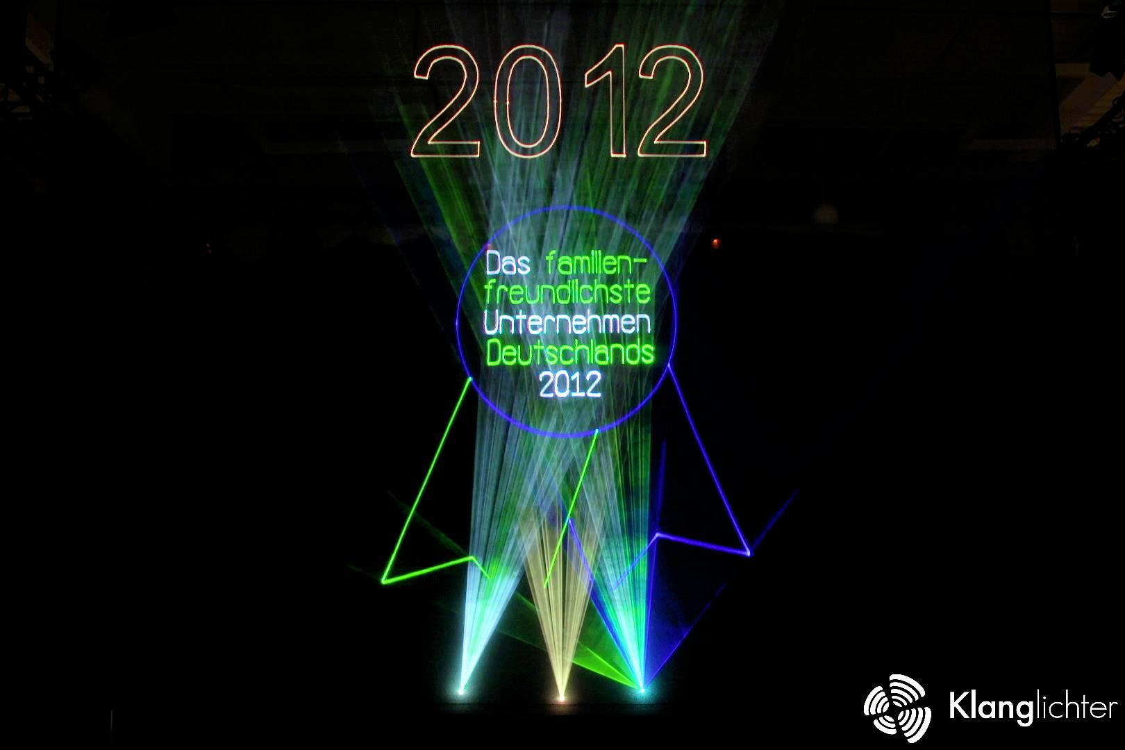 PROFESSIONAL Lasershow: Eröffnungsfeier des Globus in Rüsselsheim-Bauschheim - Auszeichnung
