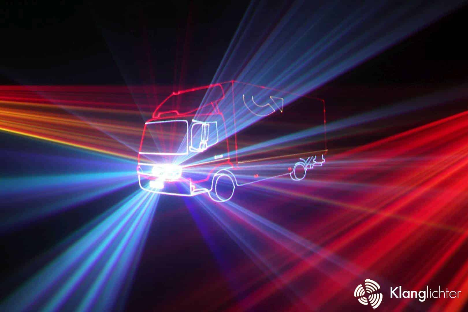 CORPORATE Lasershow: Lasershow anlässlich 50 Jahres Jubiläumsfeier