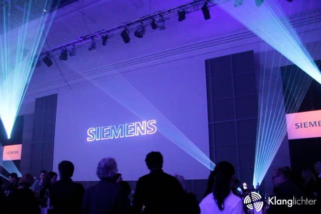PROFESSIONAL Lasershow: Siemens Home Appliances Design Award 2018