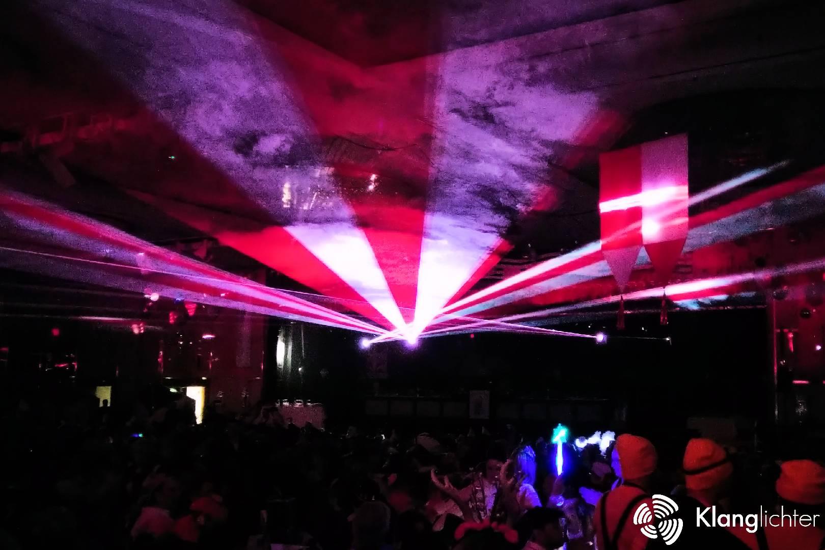 ATMO Lasershow: Jubiläumslasershow 70 Jahre Kölner Karnevals-Verein Unger Uns