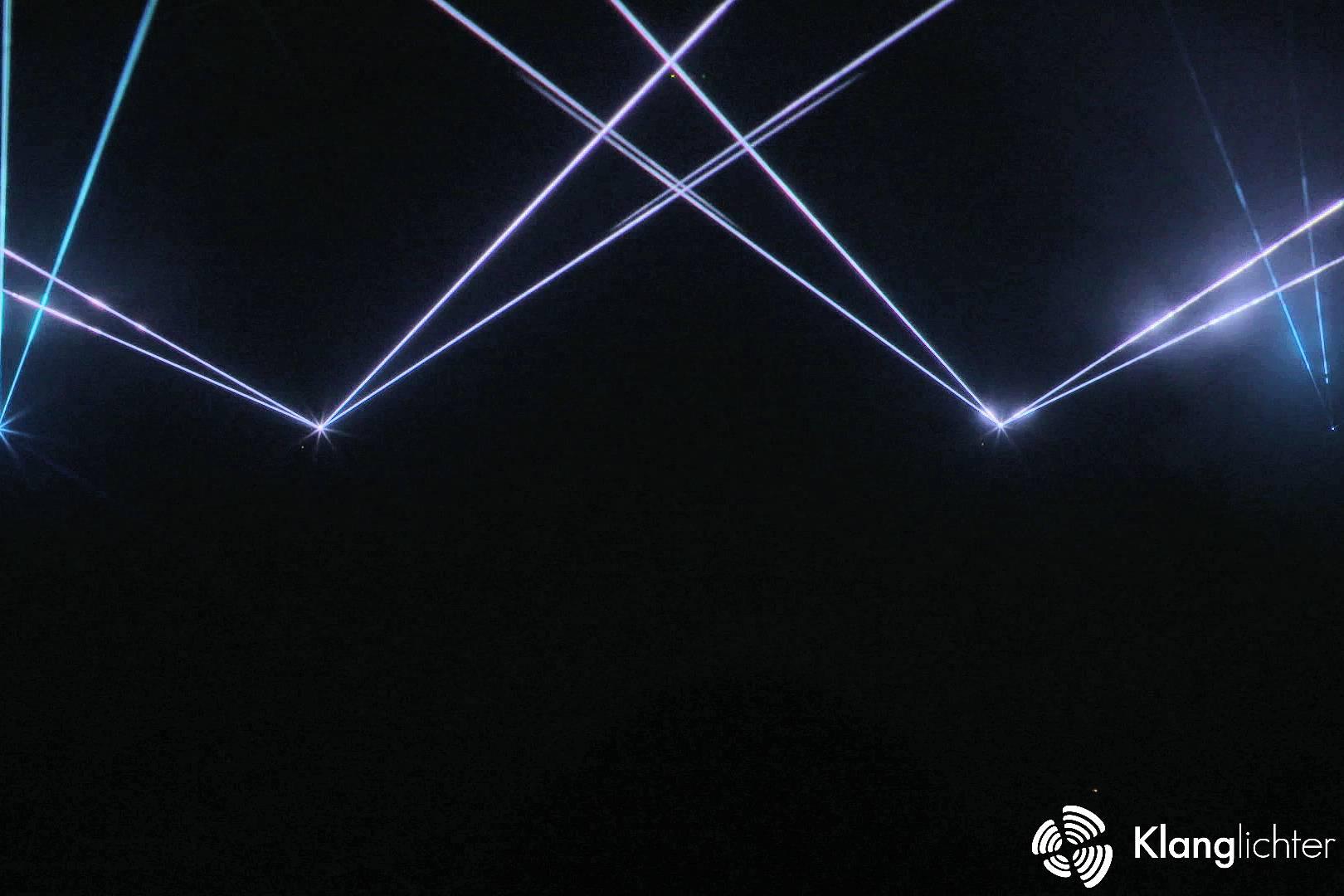 CORPORATE Lasershow: Sommerfest der Rheinmosel Fachklinik Andernach - ATMO Lasershow Teil