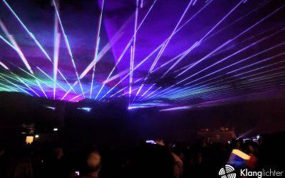 Lasershow als Abschlussevent – Kirmes in Lohmar