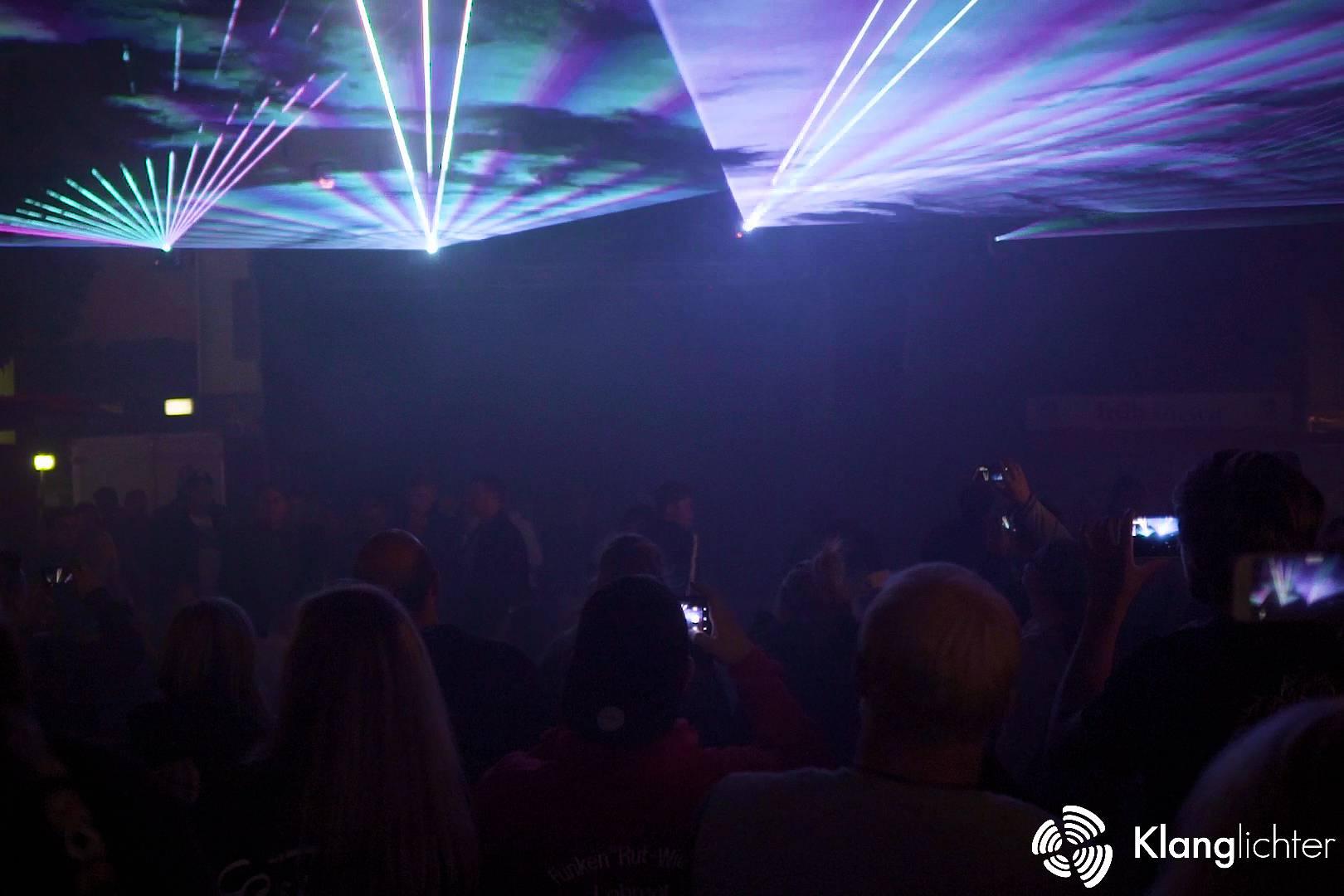 ATMO Lasershow: Zum Abschluss des Stadtfest in Lohmar