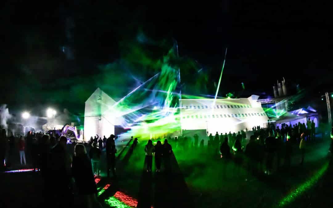 Lasershow zur Firmenfeier: Tag der offenen Tür