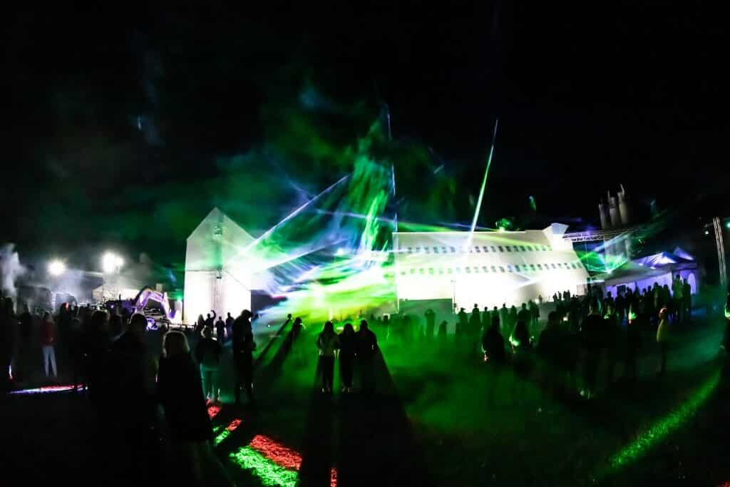 Lasershow als Event Highlight