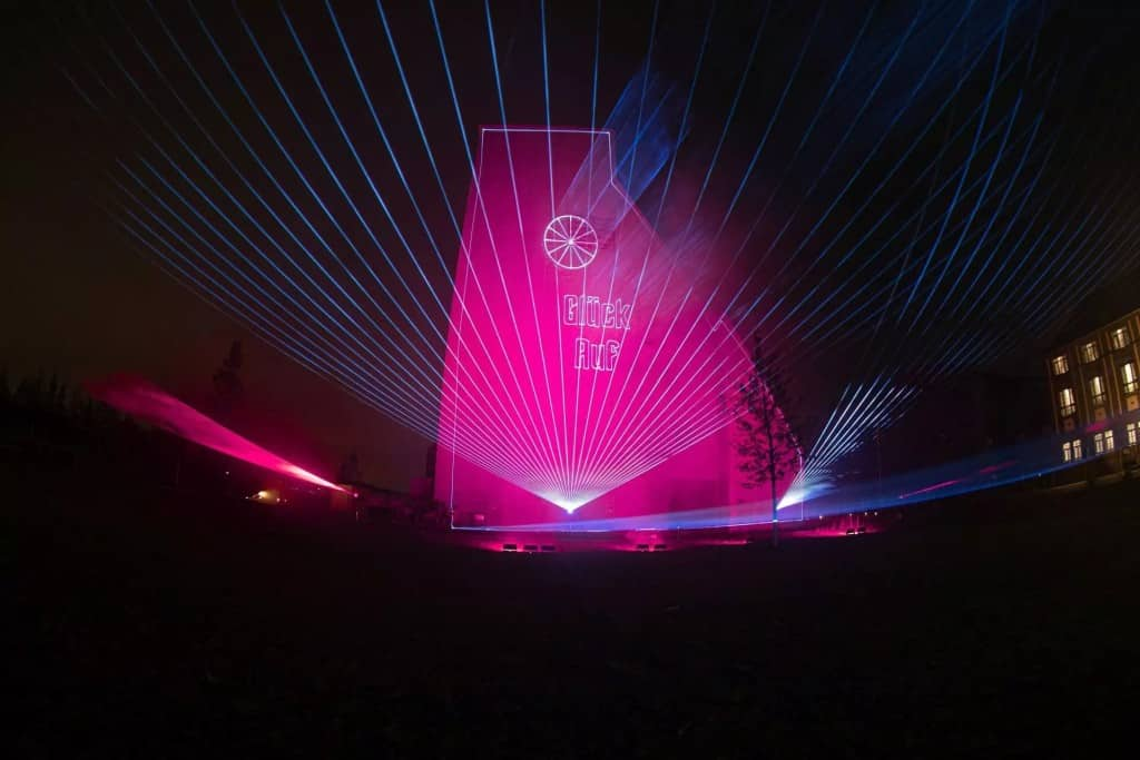 Lasershow in Kamp-Lintfort