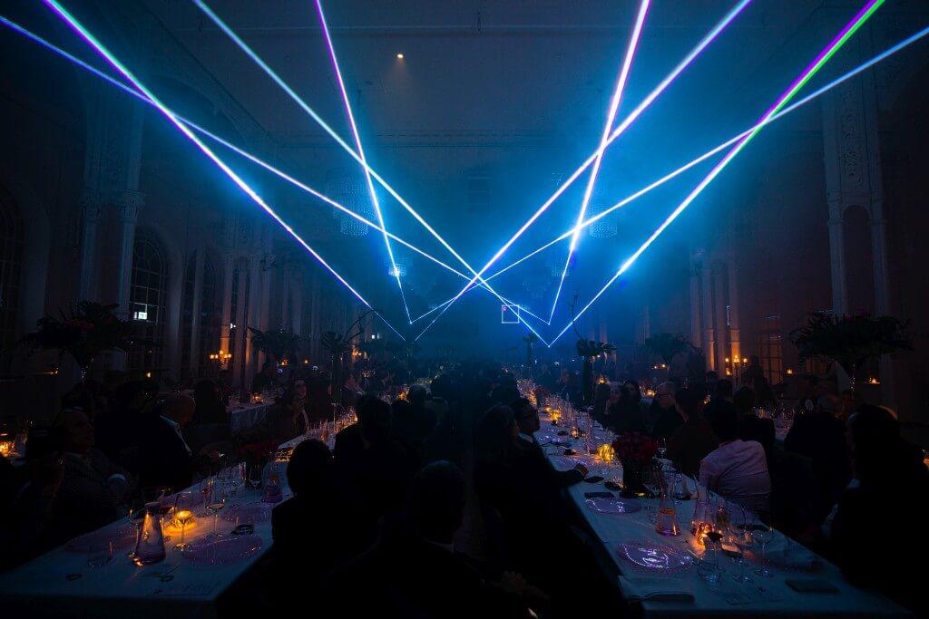 Lasershow zum Firmenevent in Köln