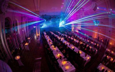 Lasershow zur Jubiläumsfeier: 50 Jahre ISM Cologne