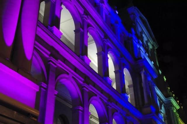 Illumination einer Event Location