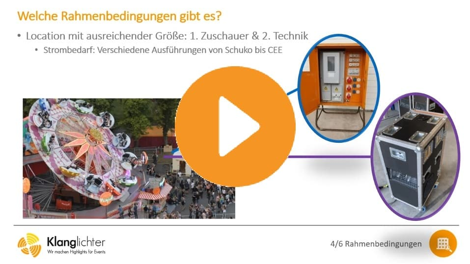 Webinar Lasershows für Outdoor Events
