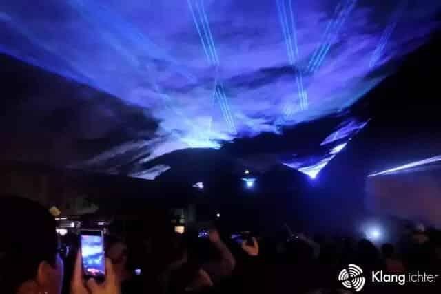 Outdoor-Lasershow