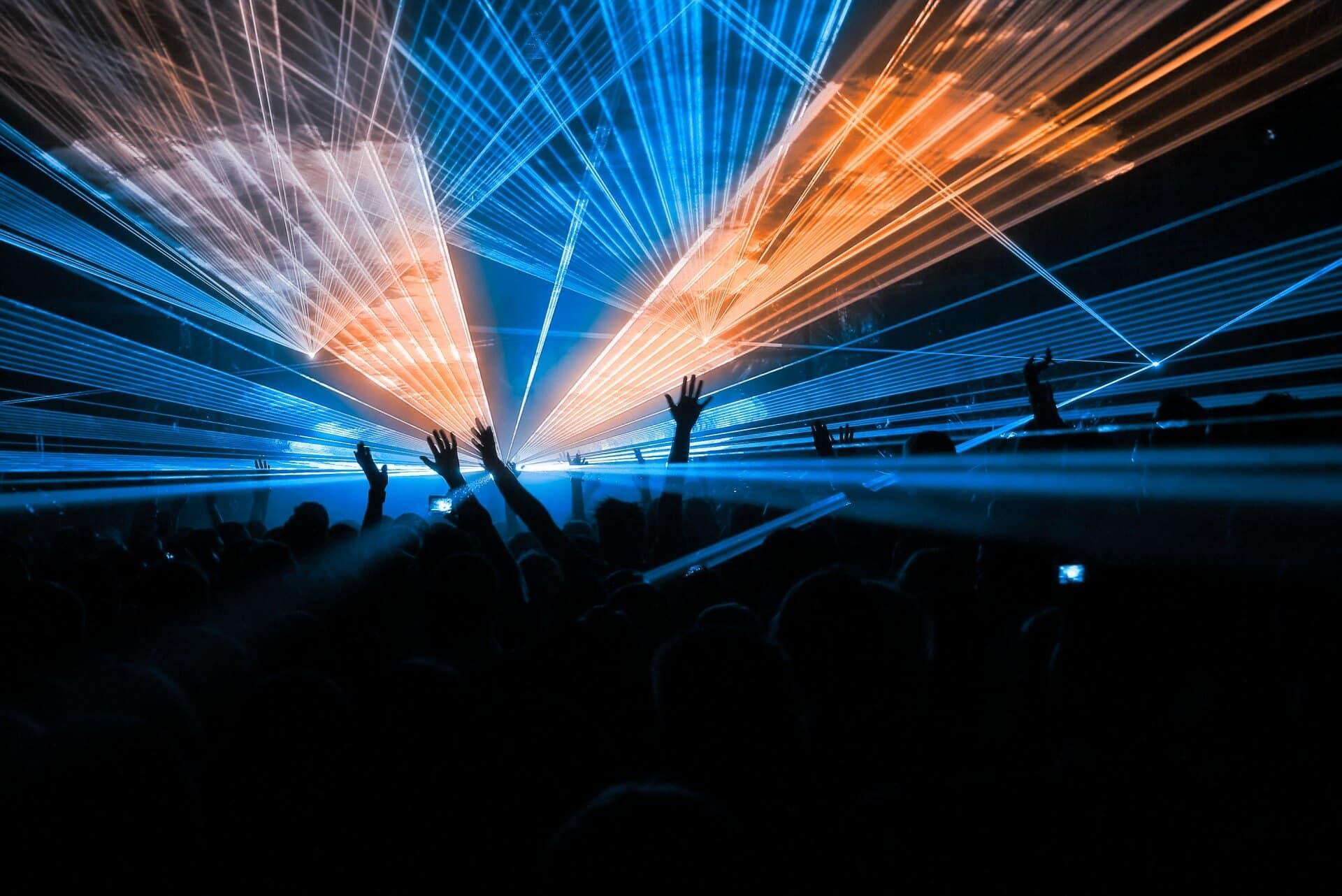 Lasershow Frankfurt
