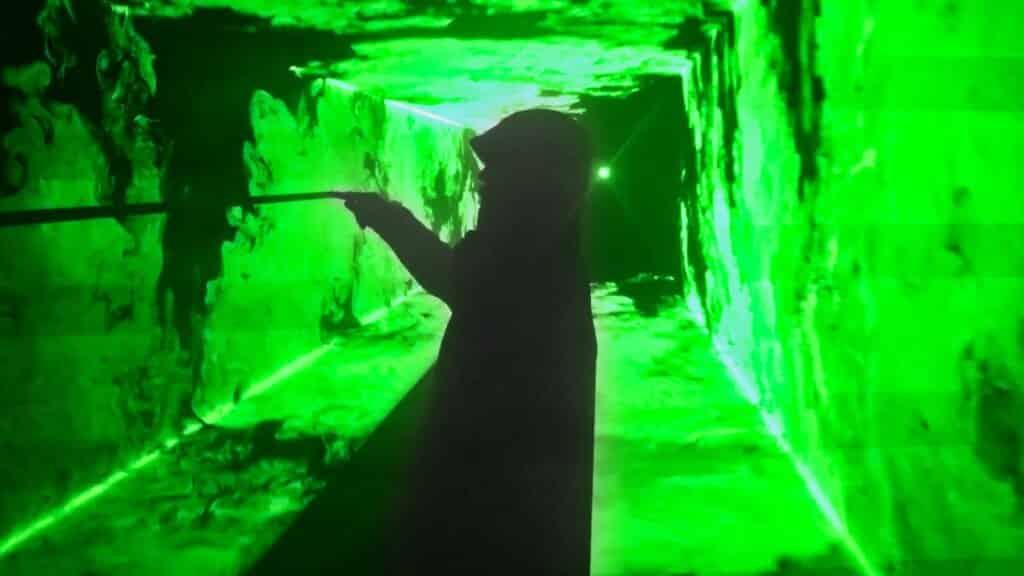 3D Lasershow Effekte