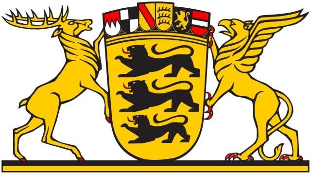 Flagge von Baden-Württemberg